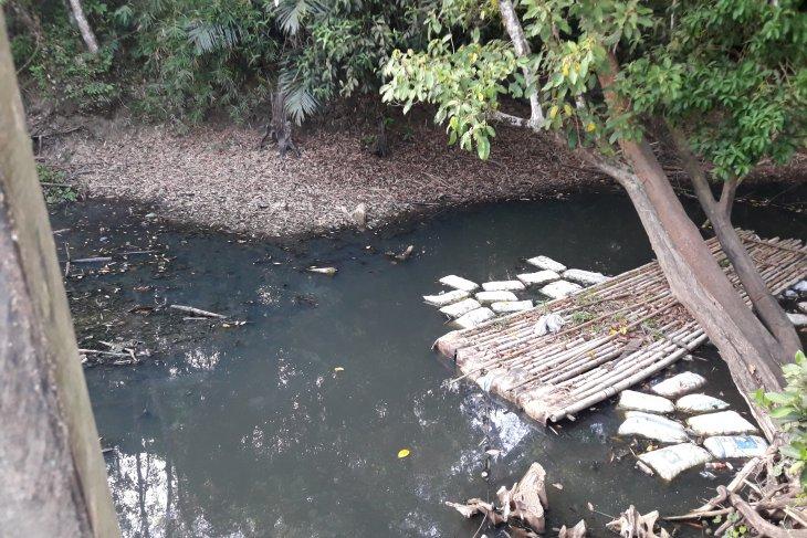 Air Sungai Mangkusip Tabalong tak bisa dimanfaatkan