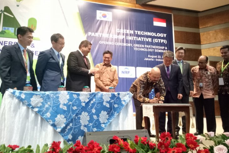 BPPT, Korea concur on cooperation for development of green technology