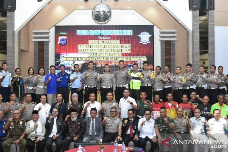 Relawan BPK sepakati 5 poin komitmen tertib berlalu lintas
