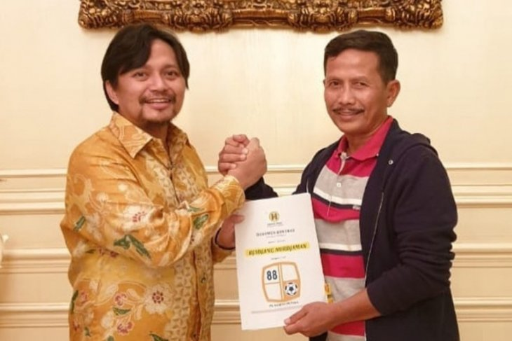 Djajang Nurjaman a new head coach for Barito Putera
