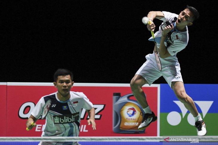 Indonesia sisakan empat wakil di perempat final kejuaraan dunia bulu tangkis