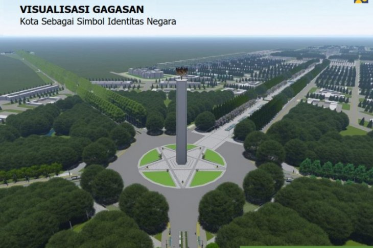 Desain Ibu kota negara di Kalimantan Timur