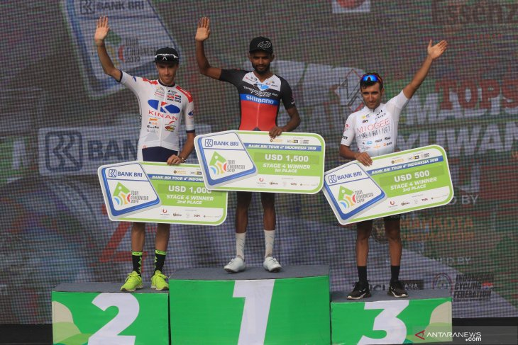 Etape keempat Tour de Indonesia