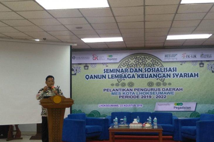 MES Aceh: Semua lembaga keuangan harus beralih ke syariah