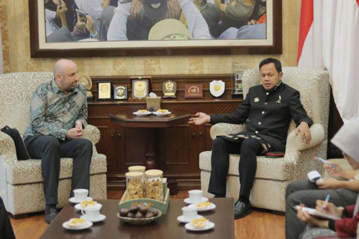 Kedutaan Besar Inggris kunjungi Balai Kota Bogor tindaklanjuti kerja sama
