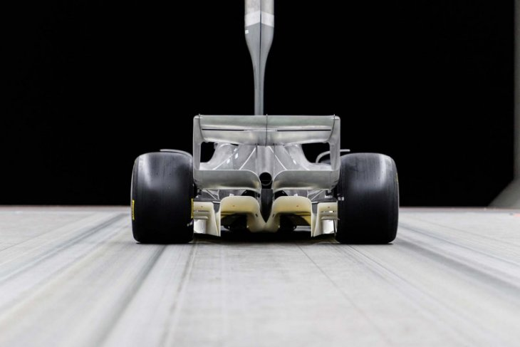 Ini desain awal mobil balap Formula 1 musim 2021