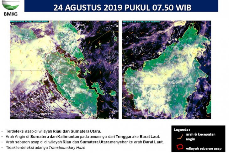 Sumatra Island ravaged by 584 hotspots representing forest fires