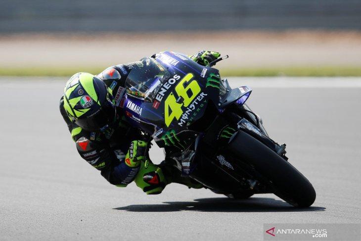 Marquez merasa terbantu oleh Rossi di kualifikasi GP Inggris