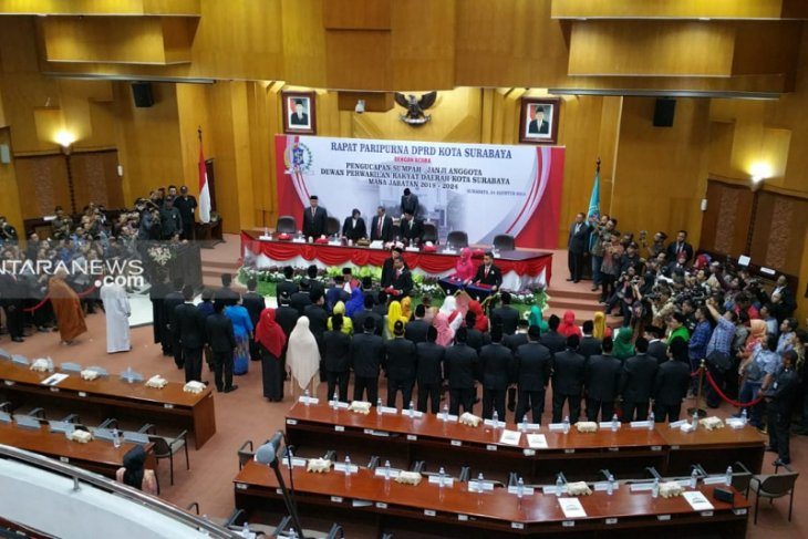 Demokrat-NasDem tak ambil jatah pimpinan alat kelengkapan DPRD Surabaya