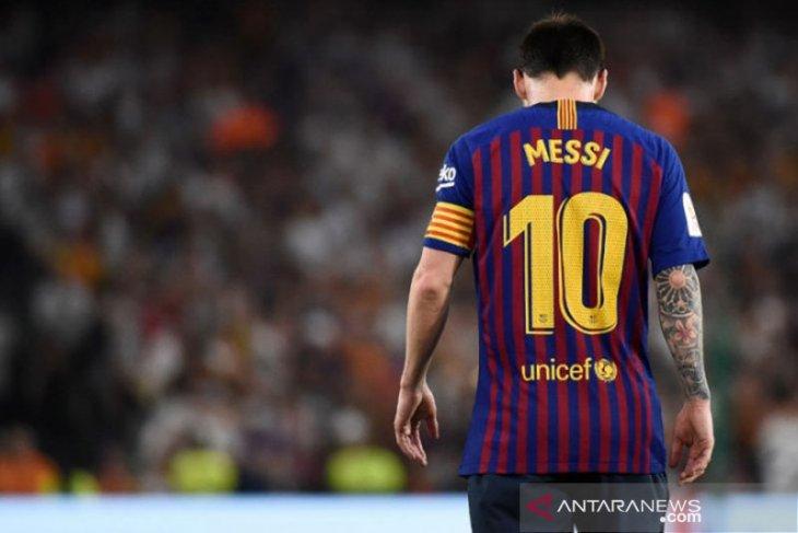 Jelang hadapi Valencia, Lionel Messi masih berlatih terpisah