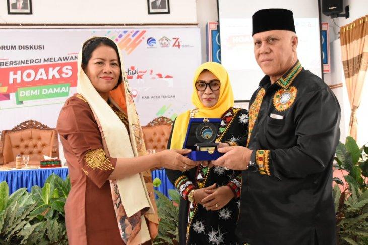 Bupati Aceh Tengah ajak ulama berperan cegah hoaks
