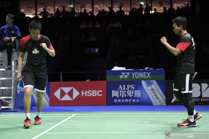 Selangkah lagi Ahsan/Hendra raih gelar juara dunia ketiga kalinya