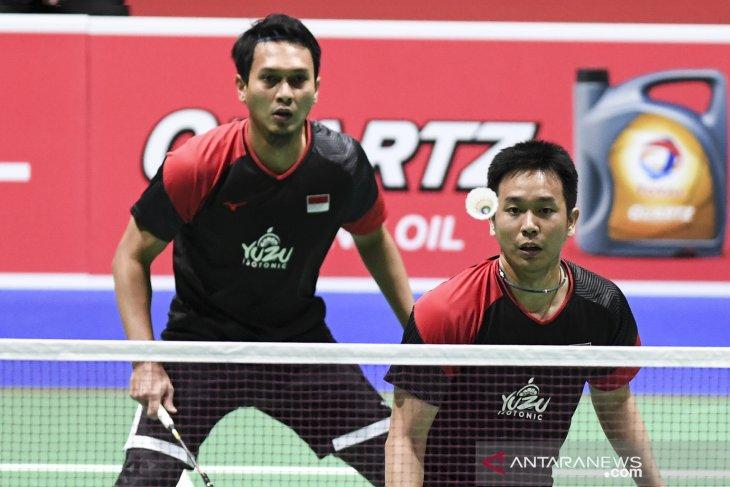 Ahsan/Hendra awali 2020 hadapi Ou Xuan Yi/Zhang Nan