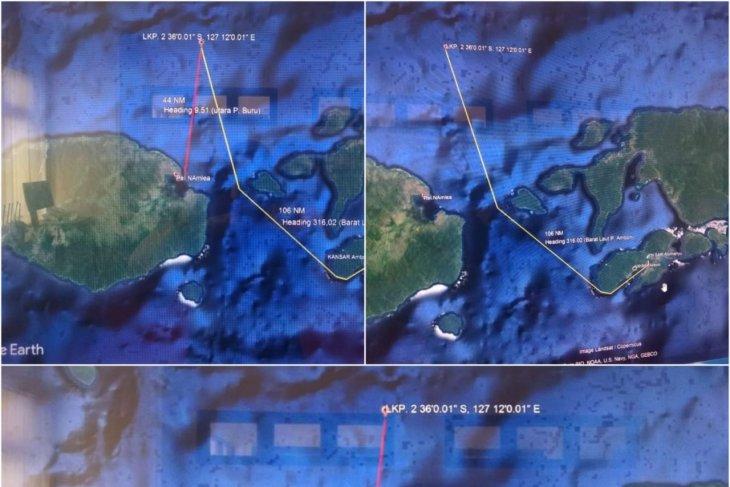 Basarnas  kapal kargo berpenumpang 25 orang hilang kontak