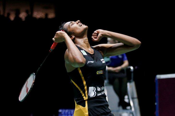 Sindhu, tunggal putri India pertama jadi juara dunia