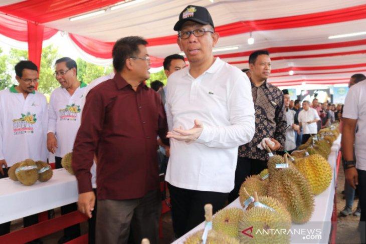 Gubernur Sutarmidji kenalkan 12 varietas durian unggulan asal Kalbar