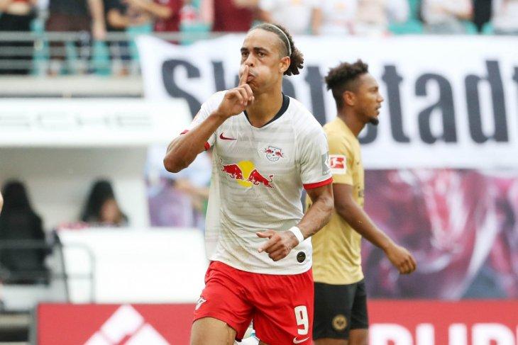 Leipzig tundukkan Frankfurt 2-1