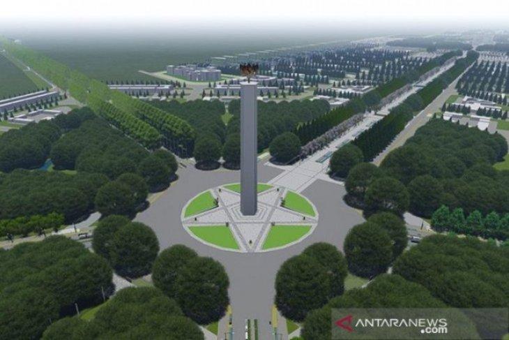 Pembangunan infrastruktur ibu kota baru dibagi 3 bagian