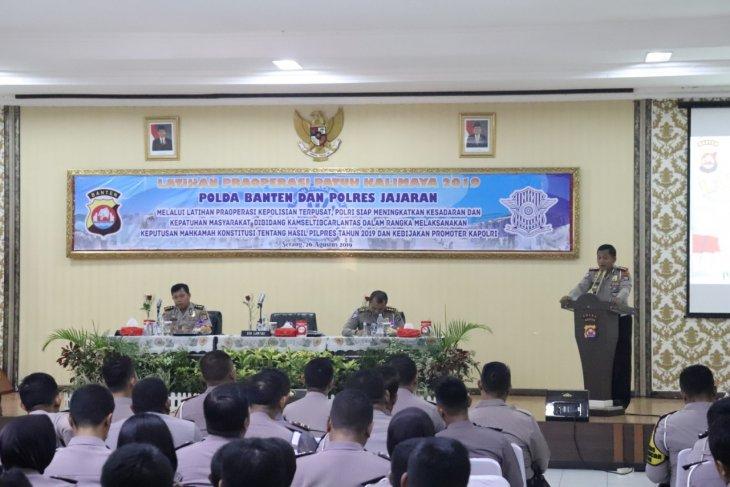 Polda Banten gelar operasi patuh Kalimaya 2019 selama 14 hari