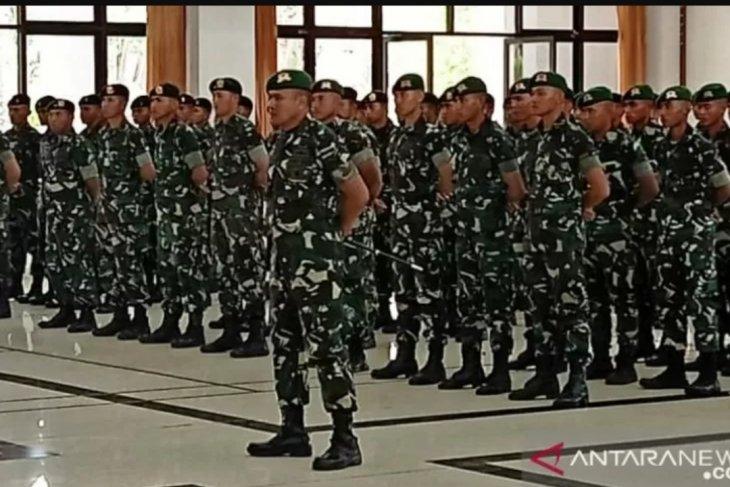 Danrem 042/Gapu lepas keberangkatan 400 prajurit TNI AD Satgas Pamtas RI-RDTL