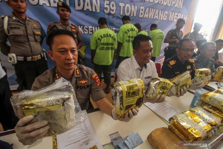 Kasus 25 kilogram sabu dilimpahkan ke kejaksaan