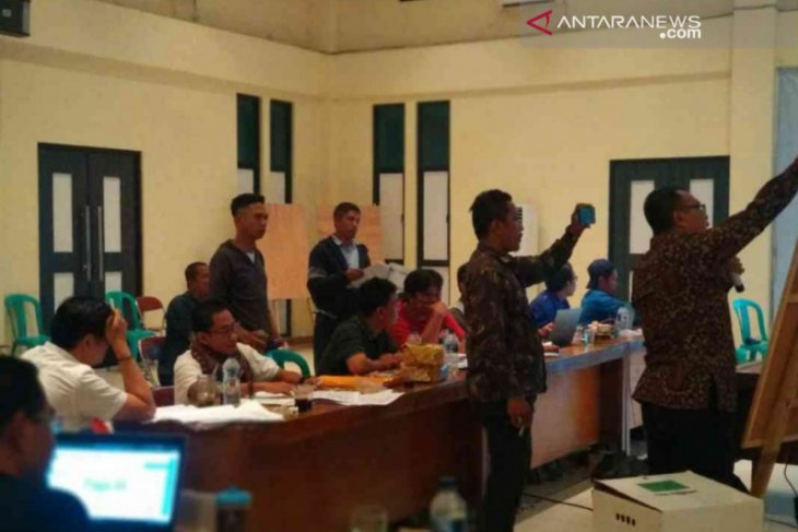KPU Bekasi telah selesai penyandingan data Pileg 2019 sesuai putusan MK