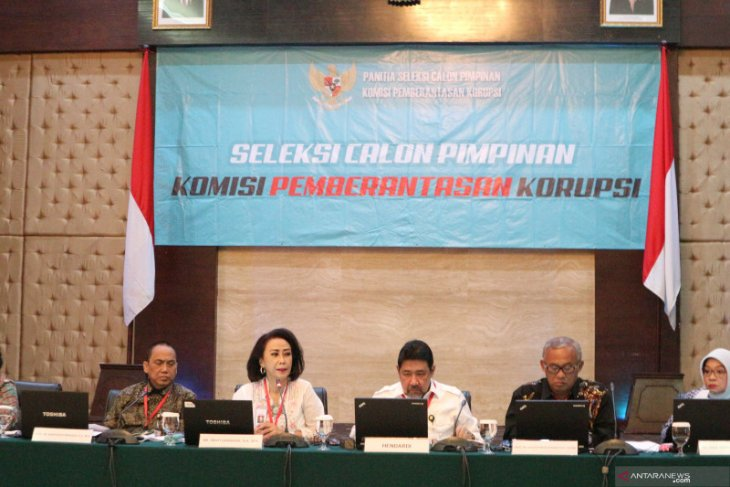 Hari ini pansel akan uji enam calon pimpinan KPK