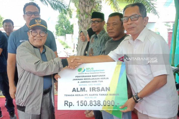 297 desa di Aceh Barat terdaftar BPJS Ketenagakerjaan