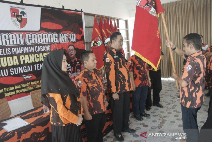 Athaillah Hasbi kembali nahkodai Pemuda Pancasila HST