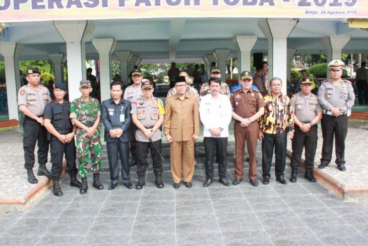 Wakil Walikota Binjai pimpin apel gelar pasukan Operasi Patuh Toba 2019