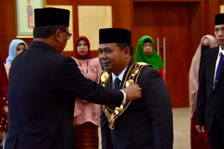 Menristekdikti lantik Syamsul Gultom sebagai Rektor Unimed 2019-2023