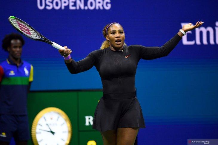 Federer, Serena berebut tempat ke perempat final