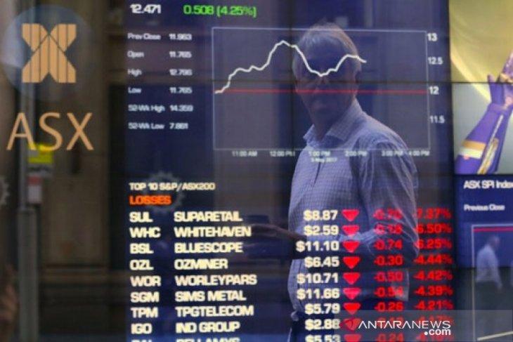 Saham Aussie lebih tinggi terangkat lonjakan sektor keuangan