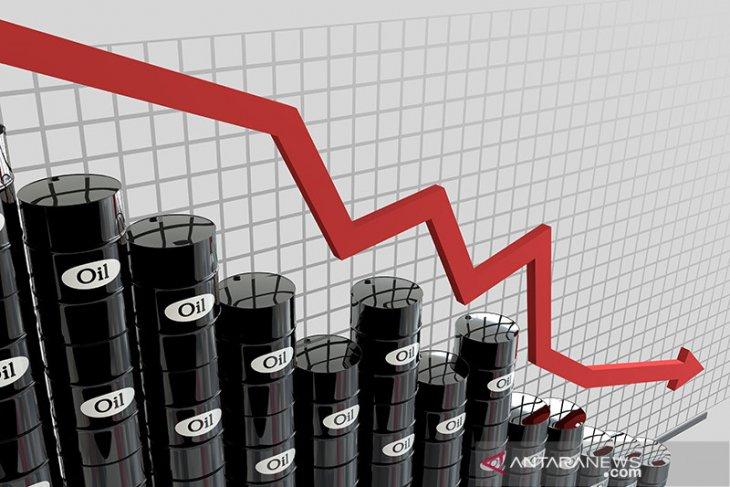 Minyak Brent pangkas kerugian, minyak AS naik dipicu harapan stimulus