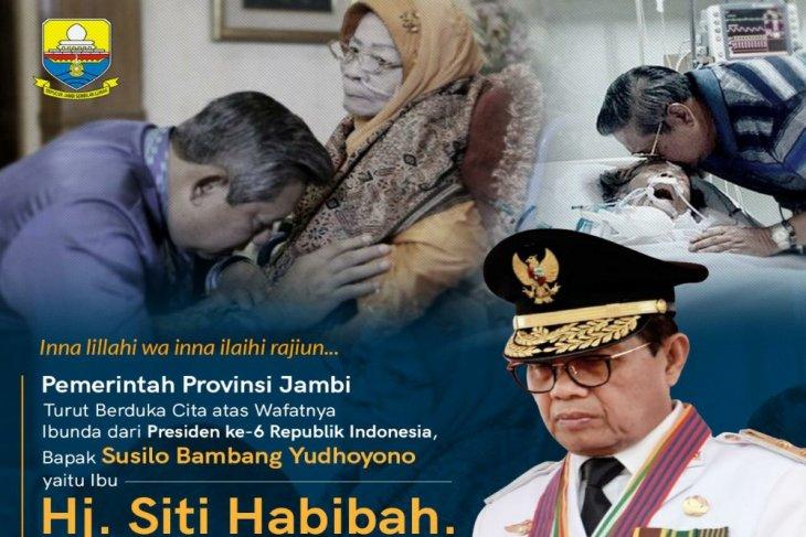 Gubernur Jambi sampaikan belasungkawa wafatnya Ibunda SBY