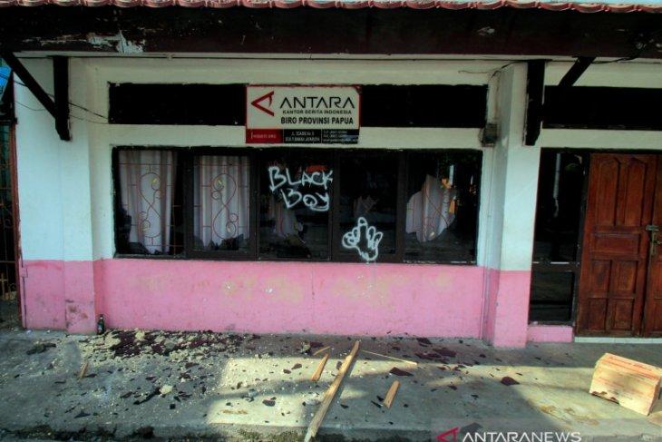 PWI Pusat prihatinkan perusakan kantor  ANTARA Biro Papua