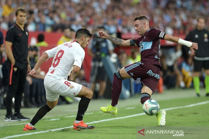 Awal sempurna Sevilla terhenti, ditahan imbang Celta Vigo 1-1