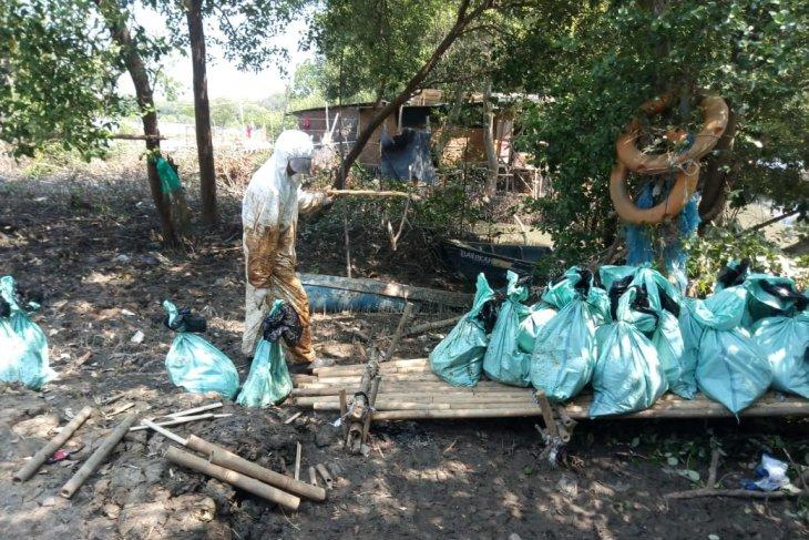 Ada 2.200 nelayan Bekasi terdampak tumpahan minyak
