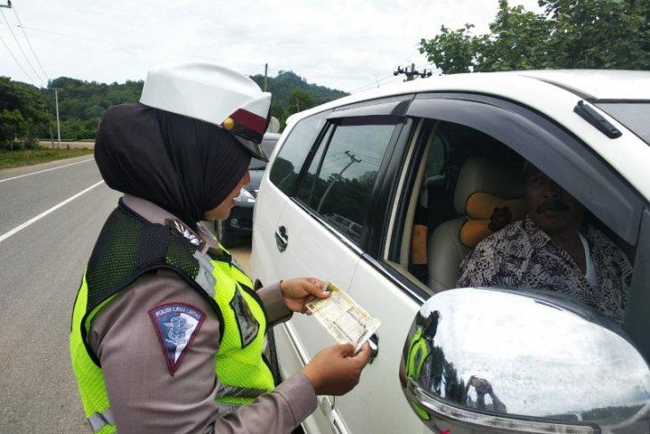 Polres Bireuen tilang 168 pelanggar lalu lintas
