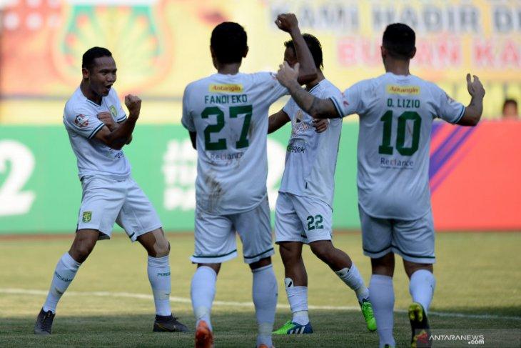 Persebaya Surabaya kuasai jumlah penonton Liga 1 terbanyak, Bhayangkara sebaliknya