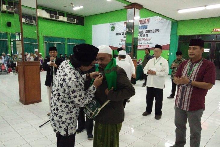 Wabup Jember sambut  jamaah haji di Asrama Haji Sukolilo