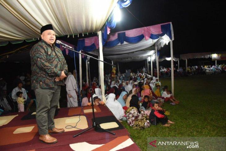 Pawai obor sambut Tahun Baru Islam 1441 H di Tapanuli Selatan