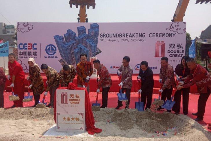 Gandeng BUMN China, pembangunan Double Great Residence dipercepat