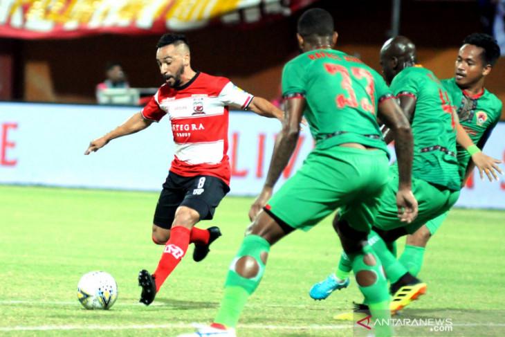 Shopee Liga 1 2019 - Kemenangan Madura United atas Kalteng Putra hanya keberuntungan