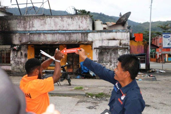 Polisi: 28 tersangka demo anarkis di Jayapura