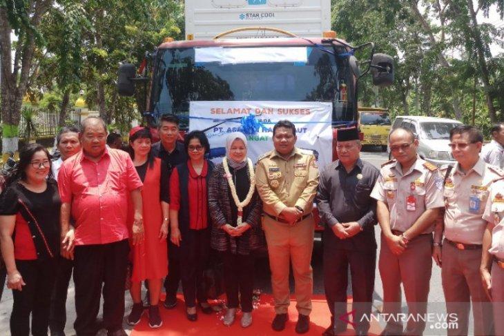 Wali Kota Tanjungbalai lepas 81.000 Kg hasil laut ke China