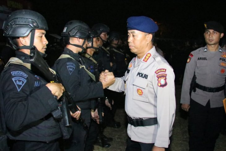 Satu SSK Brimob Malut dikirim ke Papua