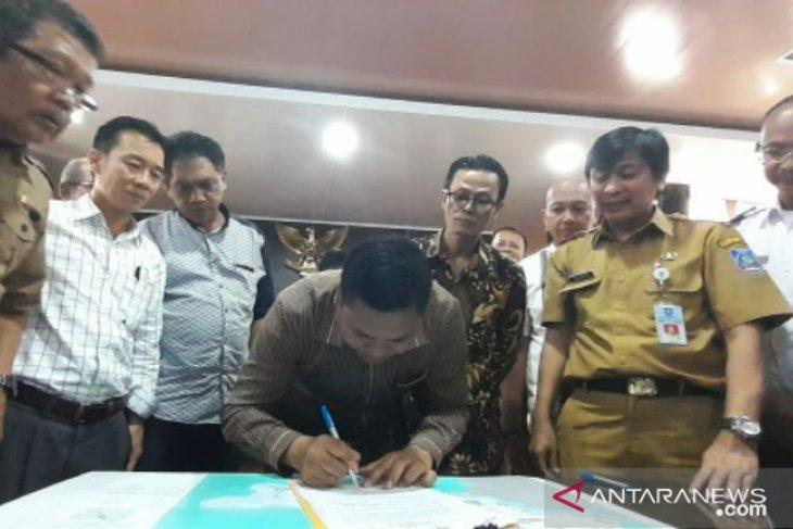 DPRD Babel tandatangani dokumen dan draft Raperda RZWP3K