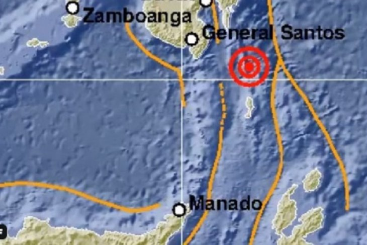 Gempa magnitudo 5,7 guncang Sulut
