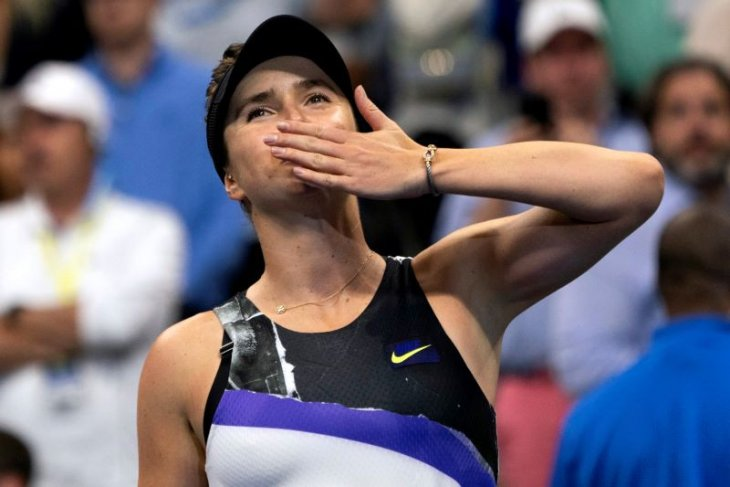 Kalahkan Keys, Svitolina melaku ke perempat final US Open